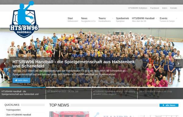 Vorschau von www.htsbw96-handball.de, HTS/BW96 Handball