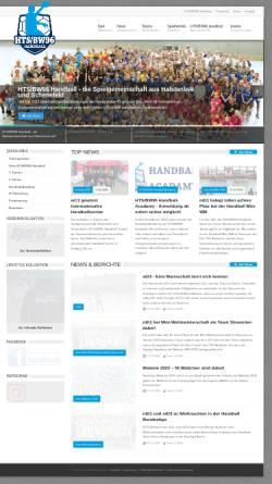Vorschau der mobilen Webseite www.htsbw96-handball.de, HTS/BW96 Handball