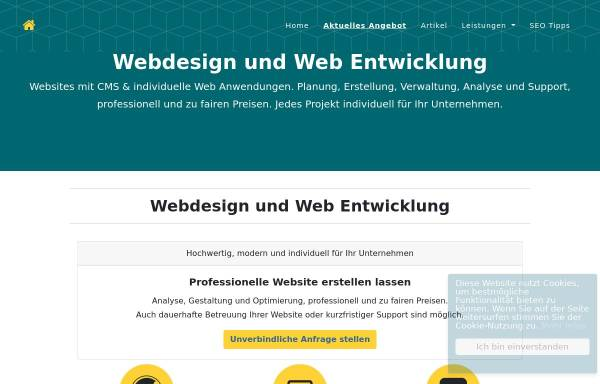 Vorschau von www.seot.de, EDV und Internet Konzepte Ludwig Dorigo