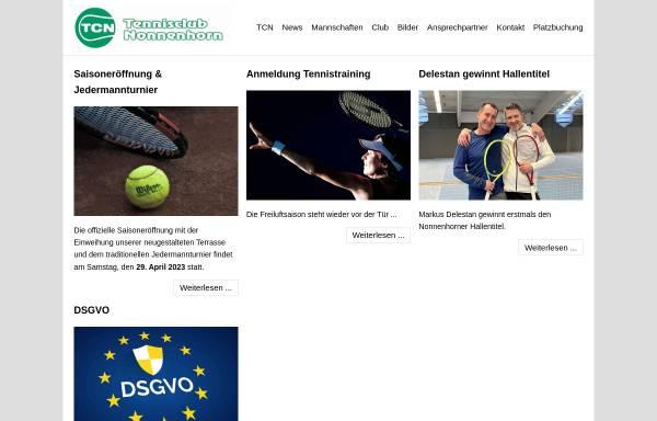 Vorschau von tc-nonnenhorn.de, Tennisclub Nonnenhorn e.V.