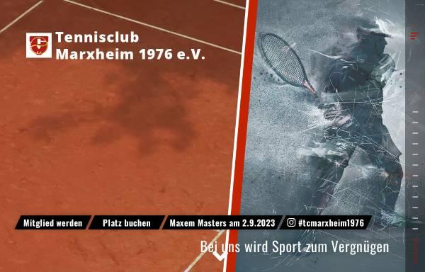 Vorschau von tc-marxheim.de, Tennisclub Marxheim