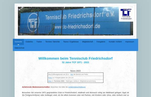 Vorschau von www.tc-friedrichsdorf.de, Tennisclub Friedrichsdorf e.V.