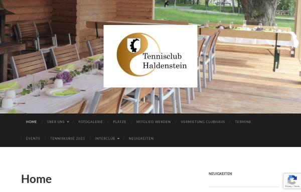 Vorschau von www.tc-haldenstein.ch, Tennisclub Haldenstein