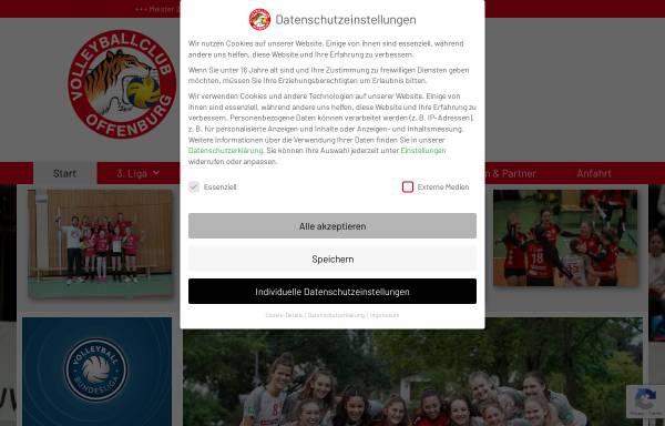 Vorschau von www.vco.de, Volleyball Club Offenburg