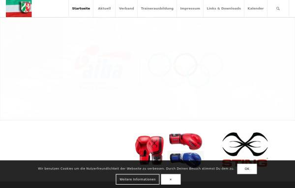 Vorschau von boxnrw.de, Boxsportverband Nordrhein-Westfalen e.V.
