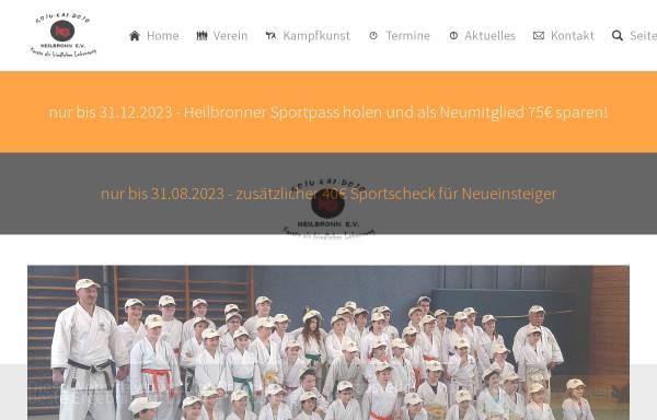 Vorschau von www.karate-sv-heilbronn.de, GojuKai Dojo Heilbronn