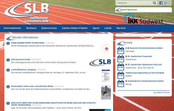 Vorschau von www.slb-saarland.com, Saarländischer Leichtathletik Bund