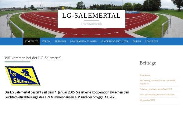 Vorschau von lg-salemertal.com, Leichtathletik-Gemeinschaft Salemertal