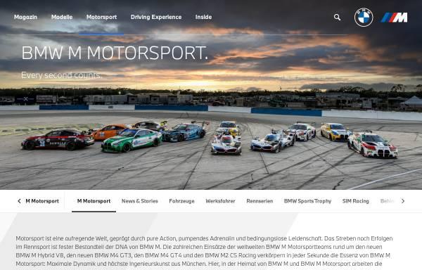 Vorschau von bmw-motorsport.com, BMW Motorsport