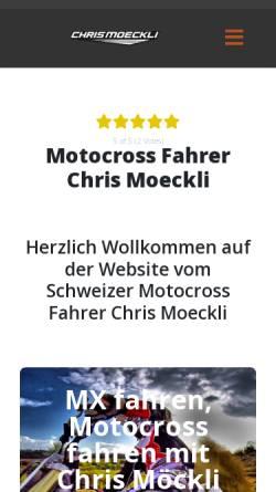 Vorschau der mobilen Webseite www.chrismoeckli.com, Chris Moeckli