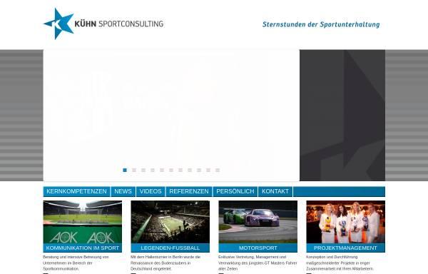Vorschau von www.kuehn-sportconsulting.de, Kühn Sportconsulting