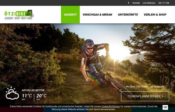 Vorschau von www.oetzi-bike-academy.com, ÖTZI Bike Academy Naturns