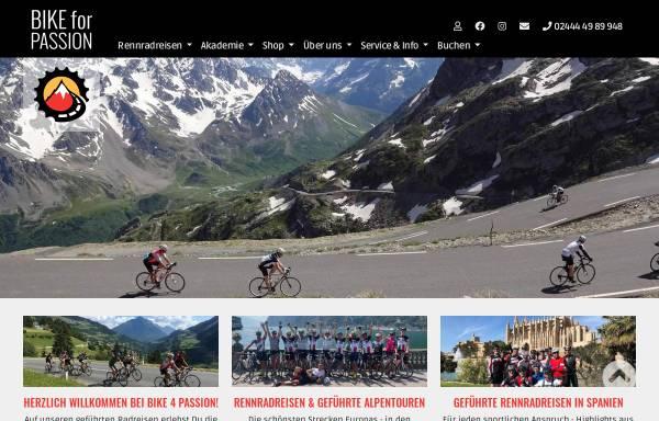 Vorschau von www.bike4passion.de, Bike4Passion Radreisen