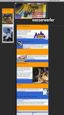Vorschau der mobilen Webseite www.wasserwerfer-magazin.de, Wasserwerfer Magazin