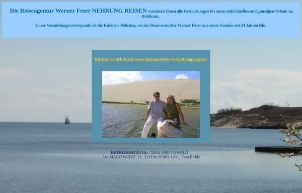 Vorschau von www.nehrung-reisen.de, Nehrung Reisen