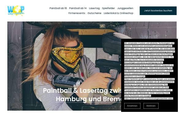 Vorschau von www.hamburg-paintball.de, Neon Paintball GmbH