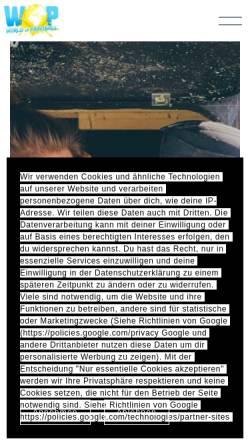 Vorschau der mobilen Webseite www.hamburg-paintball.de, Neon Paintball GmbH