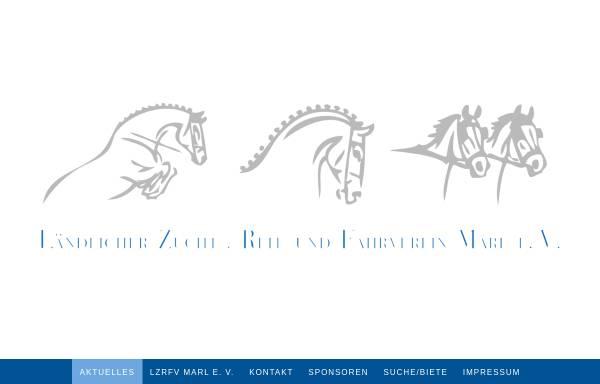 Vorschau von www.reitverein-marl.de, Reitverein St. Georg Marl