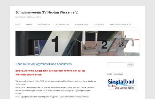 Vorschau von www.neptun-wissen.de, SV Neptun Wissen e.V.