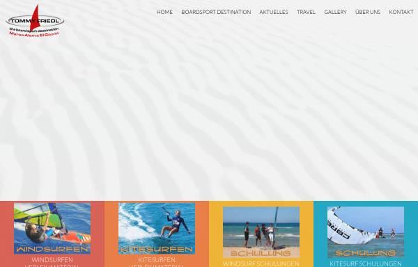 Vorschau von www.tommy-friedl.com, ProCenter Tommy Friedl Hurghada