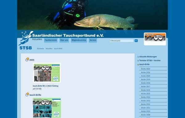Vorschau von www.stsb.de, Tauchbrille