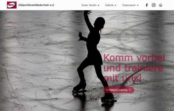 Vorschau von www.esv-n.de, Eissportverein Niederrhein e.V.