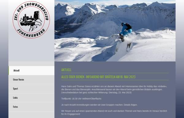 Vorschau von ssc-schenkenberg.ch, Ski- und Snowboardclub Schenkenberg