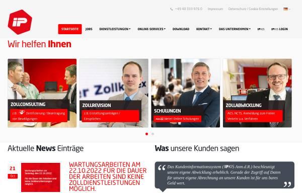 Vorschau von www.import-partner.de, Import Partner Int. Zollspedition GmbH