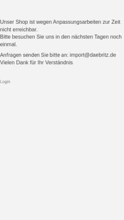 Vorschau der mobilen Webseite www.zollbuero.de, Zollbüro Barbara Däbritz, Bayreuth