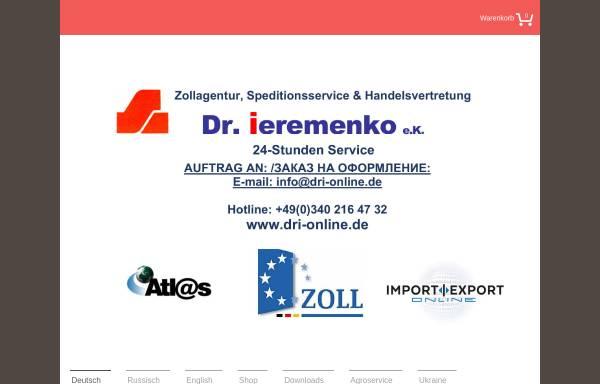 Vorschau von www.dmk-tek.de, DMK TEK Zollagentur und Handelsvertretung