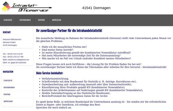 Vorschau von www.zollagentur.net, Zollagentur Schütz - Dietmar Schütz
