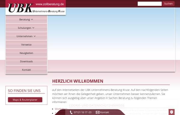 Vorschau von www.internetverzollung.de, Internetverzollung.de by Logistik und Service Kruse