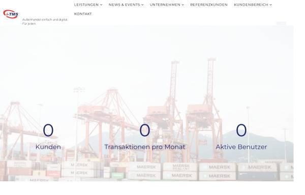 Vorschau von www.zoba.de, Zollberatung und -abwicklung GmbH