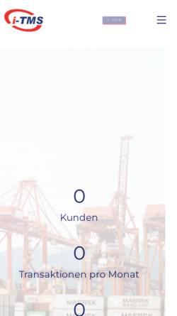 Vorschau der mobilen Webseite www.zoba.de, Zollberatung und -abwicklung GmbH
