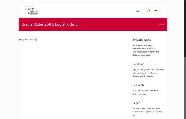 Vorschau von www.urlogistik.de, Ursula Röder Zoll & Logistik GmbH
