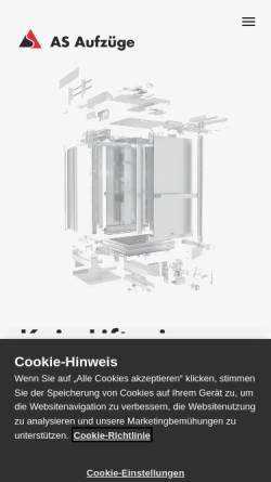 Vorschau der mobilen Webseite www.gta.ch, GTA Solutions AG