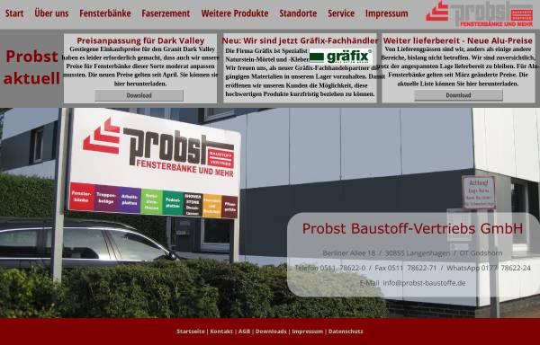 Probst Baustoff Vertriebs GmbH in Langenhagen: Fenster und Türen ...