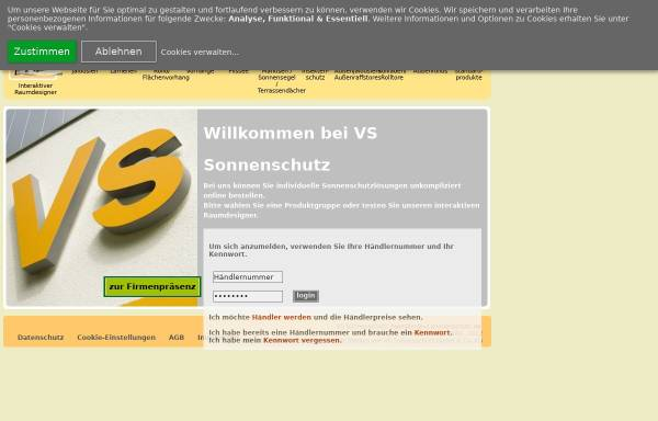 vs sonnenschutz gmbh co kg in gornsdorf sonnen und insektenschutz fenster und t ren vs. Black Bedroom Furniture Sets. Home Design Ideas