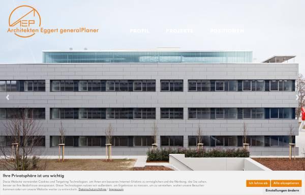 Vorschau von www.eggert-architekten.de, AEP Architekten Eggert Generalplaner GmbH