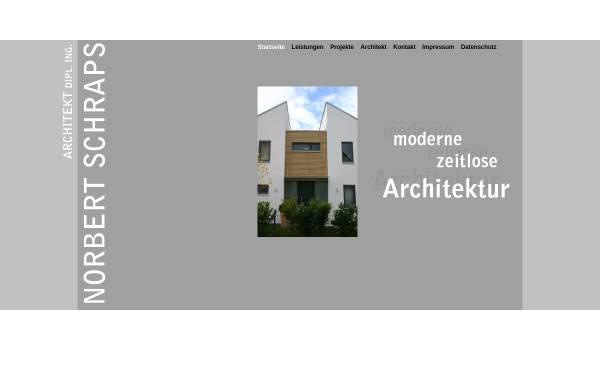 Vorschau Von Www.architekt Schraps.de, Norbert Schraps, Architekt ...