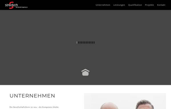 Vorschau von stredich.de, Stredich Beratende Ingenieure GmbH & Co. KG