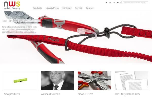 Vorschau von www.nws-tools.de, NWS Germany Produktion W. Nöthen e.K.