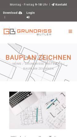 Vorschau der mobilen Webseite www.bauplansv.de, Baranski, Werner