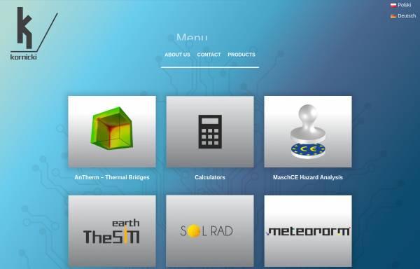 Vorschau von kornicki.com, Kornicki Software
