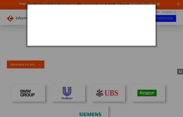 Vorschau von www.informatica.com, Informatica GmbH