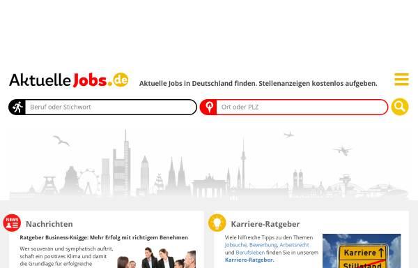 Vorschau von www.aktuelle-jobs.de, Aktuelle-jobs.de, Michael Gößling