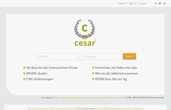 Vorschau von www.cesar.de, Cesar Internetdienste GmbH