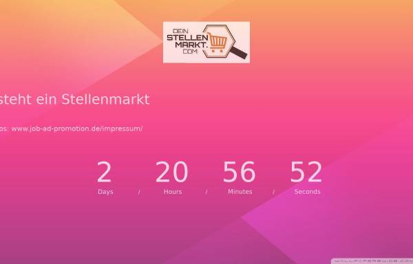 Vorschau von www.dein-stellenmarkt.com, Dein-Stellenmarkt.com