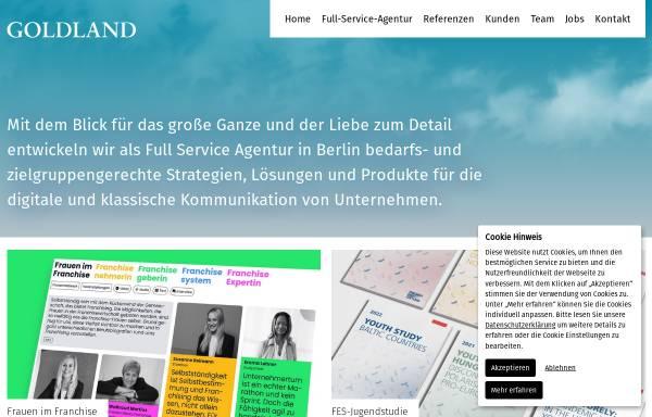Vorschau von www.goldland-media.com, Goldland Media GmbH