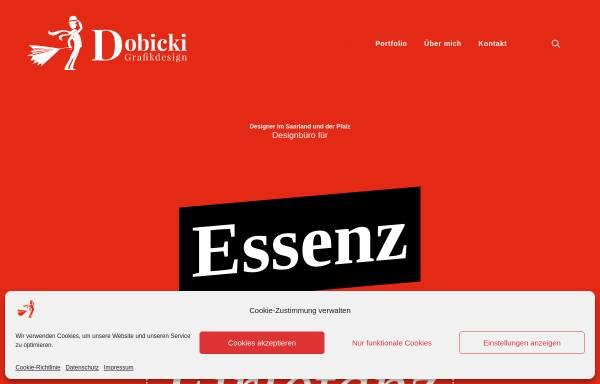 Vorschau von dobicki.de, Dobicki Grafikdesign